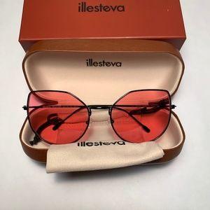 Illesteva Penelope Rose Sunglasses